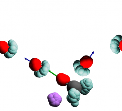 Effects of pressure and molecular aggregation at low temperatures